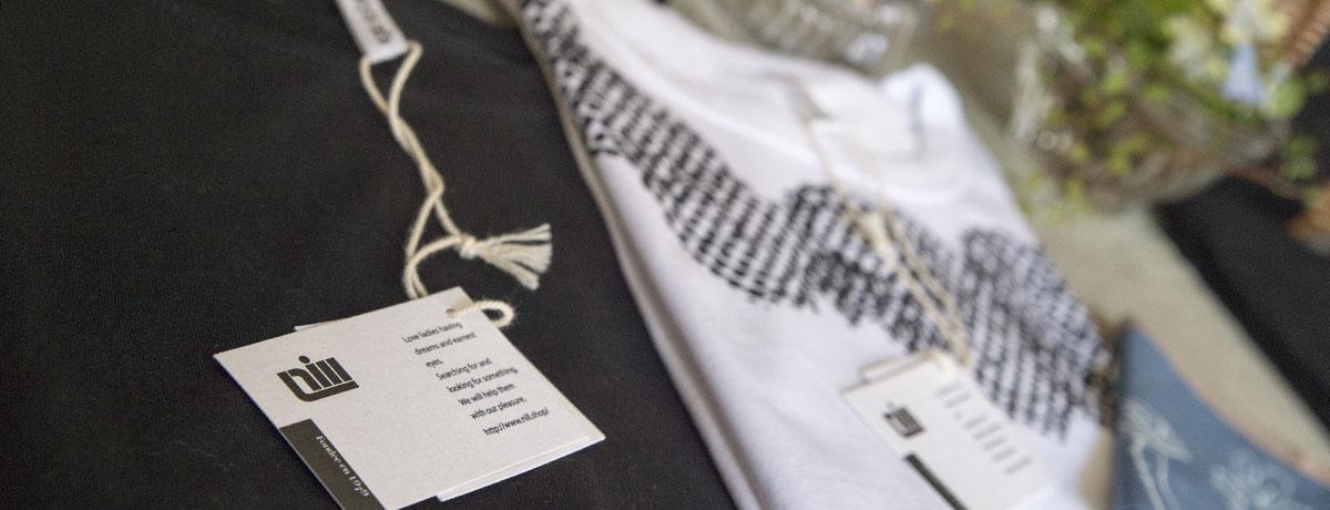 自然素材の服たち